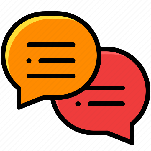 business, chats, communication, support icon