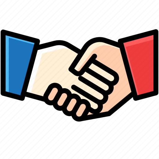 agree, business, contact, handshake icon