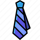 business, clothes, necktie, uniform icon