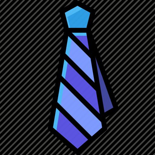 business, clothes, necktie, uniform icon