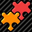business, connect, faq, idea, puzzle, team work