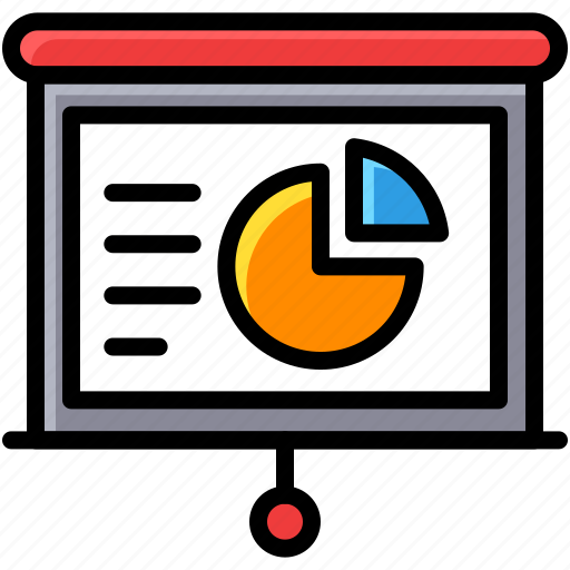business, chart, learn, training icon