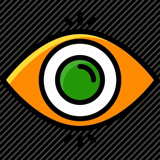 business, idea, view, vision icon
