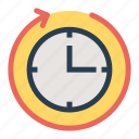 availability, business, call, clock, customer, service icon