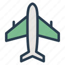 air, airbus, delivery, flight, fly, plane, shipping icon