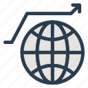 business, global, link, network, web, work, world icon