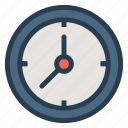 clock, deadline, minutes, schedule, time, wakeup, watch icon