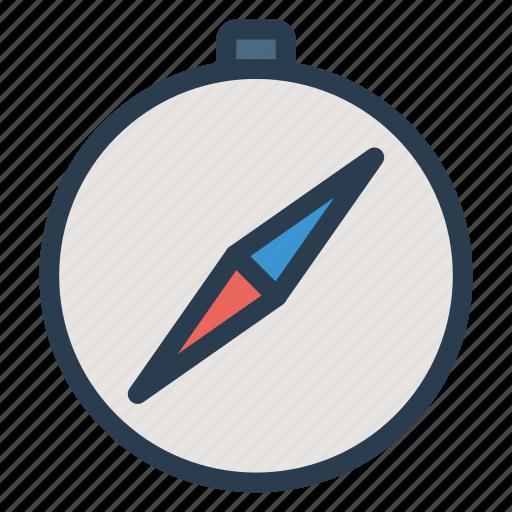 compas, navigation, north, tool, transportation, travel, way icon