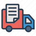 courier, delivery, express, service, shipping, transport, van icon