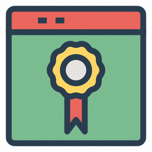 design, label, online, ribbon, security, seo, web icon