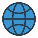 earth, globe, gps, internet, location, network, world icon