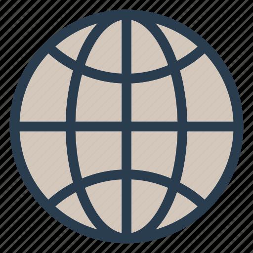 earth, globe, gps, location, network, pin, world icon