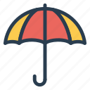 insurance, protect, protection, secure, summer, umbrella, weather icon