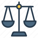 justice, law, legal, order, principle, prison, rule icon