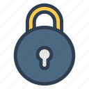 blocked, lock, password, protect, safe, secure, security icon