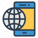 contact, conversation, function, mobile, phone, technology, telephone icon