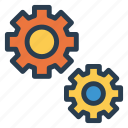 cog, config, gear, optimization, setting, setup, tools icon