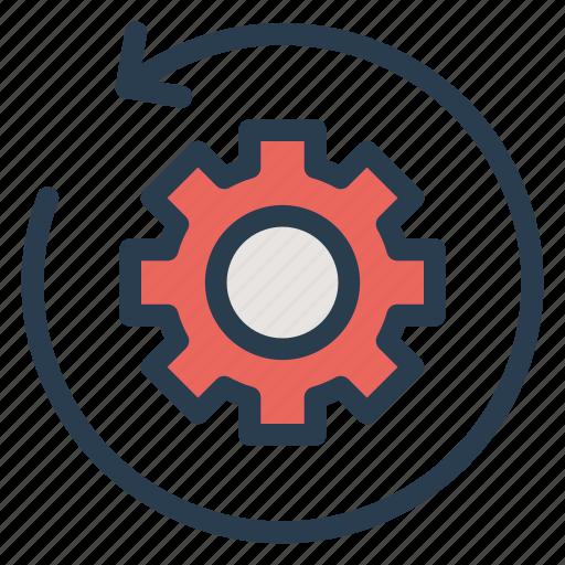 config, configure, gear, refresh, reload, service, setting icon