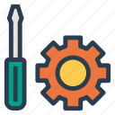 config, configuration, gear, management, options, setting, wrench icon