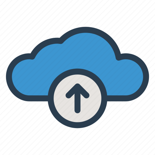Arrow, backup, cloud, data, multimedia, storage, upload icon - Download on Iconfinder