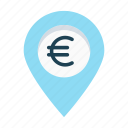 distribution, euro, franchise, opportunity, partner, supplier icon