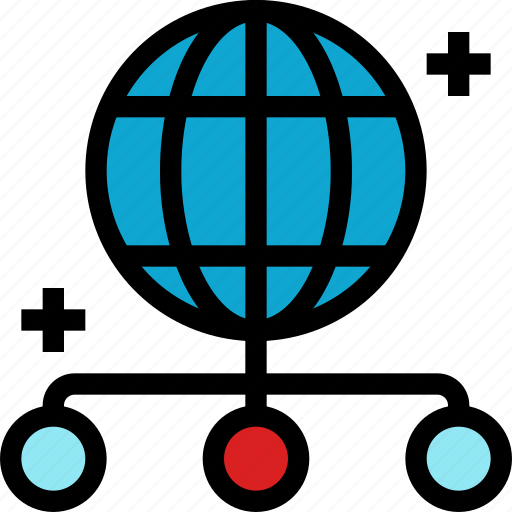 business, communication, connect, global, internet, network, online icon