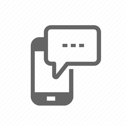 communication, internet, messaging, mobile, technology, web icon