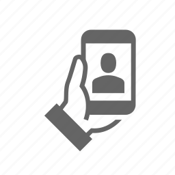 broadcasting, call, media, mobile, phone, video, web icon