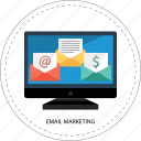 concept, design, email marketing, emailmarketing, management, marketing, sign icon