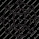 cog, gear, globe, globe settings, worldwide icon