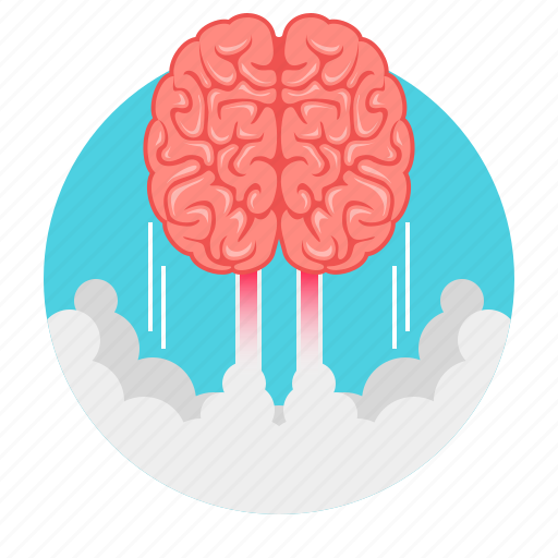 brain, brain explosion, brainstorm, brainstorming, business, idea icon
