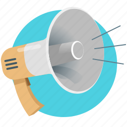 advertising, business, global, marketing, mouthpiece, promotion, speaker icon