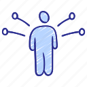 features, job, skill development, skills, training program, working management, working skill icon