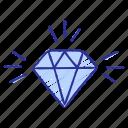 advantage, advantages, benefits, business, concept, diamond, identify icon