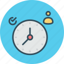 clock, management, personal, punctuality, scheduler, timeline, timer