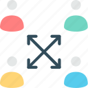 collaboration, cooperation, partnership, solidarity, support, teamwork, unity icon