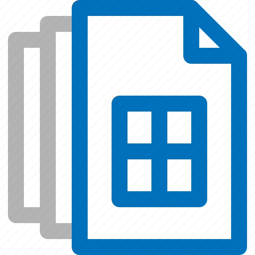 Business, document, file, information, paper, report, sheet icon - Download on Iconfinder