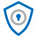 guard, key, protect, safety, security, sheild, solution icon