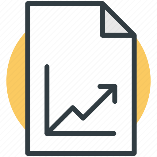 chart file, chart sheet, file, file editing, texting icon