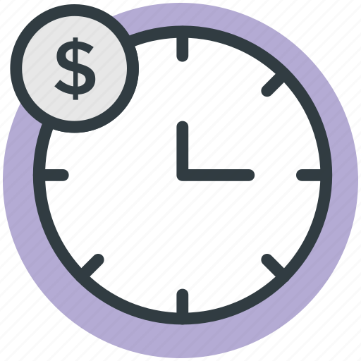 business time, clock, timepiece, timer, wall clock, watch icon