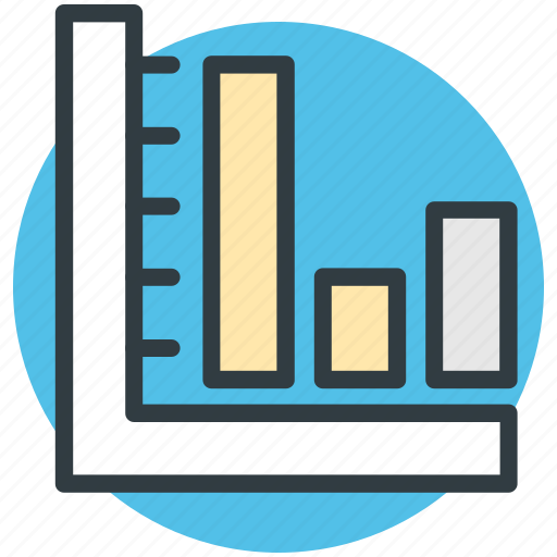 bar chart, bar graph, bars graphic, financial chart, statistics icon