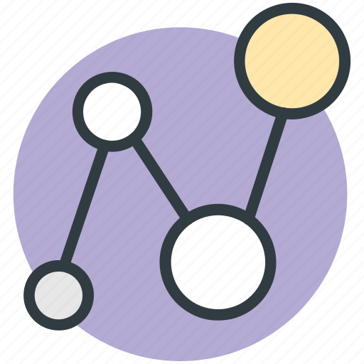 computing share, hierarchical, network, share icon