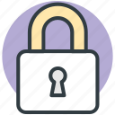 lock, locked, padlock, password, privacy, security icon