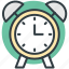 alarm clock, alert, clock, morning clock, timepiece icon