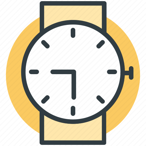 hand watch, meeting time, timer, watch, wrist watch icon