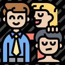 bias, boss, colleague, favoritism, nepotism