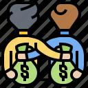 briber, business, illegal, money, support