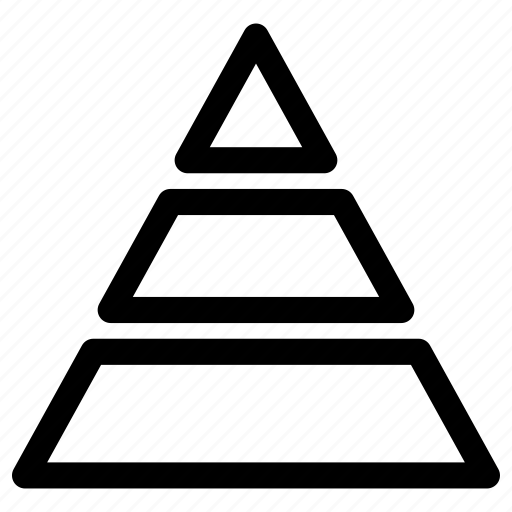 Chart, pyramid, triangle icon - Download on Iconfinder