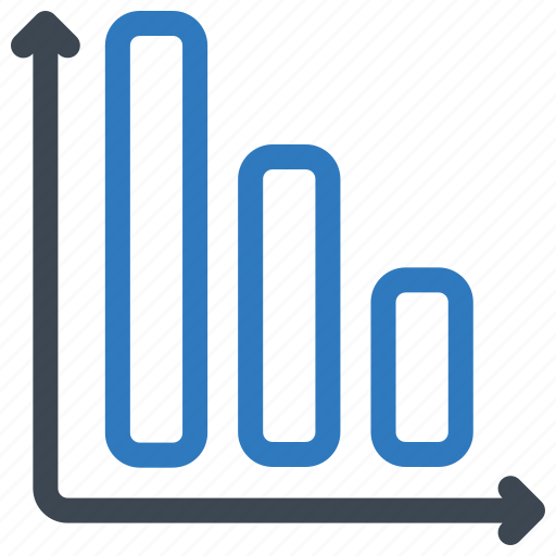 analytics, bar, graph icon