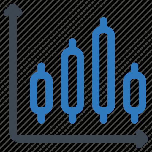axis, bar, chart icon